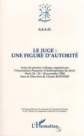 Le juge ; une figure d'autorité - Intérieur - Format classique