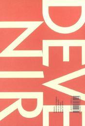 Devenir Volume 15 N.3 ; 2003 - 4ème de couverture - Format classique
