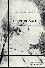 Ordre Sadien (L') - Couverture - Format classique