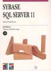 Sybase Sql Server 11 - Couverture - Format classique
