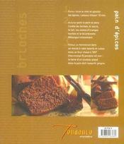 Brioches Pains D Epices - 4ème de couverture - Format classique