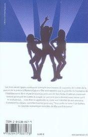 Galism, soeurs de choc t.3 - 4ème de couverture - Format classique