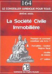 La Societe Civile Immobilere - Intérieur - Format classique