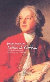 Lettres de combat - Couverture - Format classique