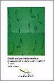 Droits sociaux fondamentaux ; jurisprudence de la charte sociale europeenne ; 2e edition - Intérieur - Format classique