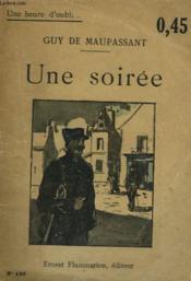 Une Soiree. Collection : Une Heure D'Oubli N° 156 - Couverture - Format classique