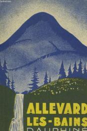 Guide D'Allvard Les Bains - Couverture - Format classique