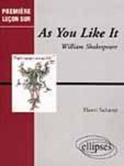 As You Like It William Shakespeare - Intérieur - Format classique