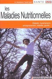 Maladies Nutritionnelles (Les) - Intérieur - Format classique