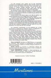 Urbanite Des Cites Portuaires - 4ème de couverture - Format classique