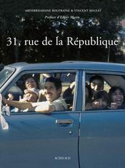 31, Rue De La Republique - Couverture - Format classique