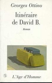 Itineraire De David B. - Couverture - Format classique