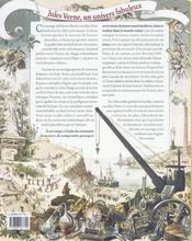 Jules verne, un univers fabuleux - 4ème de couverture - Format classique