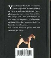 Les chiens - 4ème de couverture - Format classique
