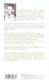 Itinéraire d'un méhariste ; de la Mauritanie à l'Afrique Française Libre - 4ème de couverture - Format classique
