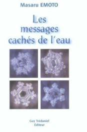 Les messages cachés de l'eau - Couverture - Format classique