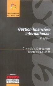 Gestion financière internationale (2e édition) - Intérieur - Format classique