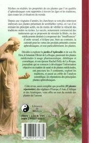 La Verite Sur Les Plantes Aphrodisiaques - 4ème de couverture - Format classique