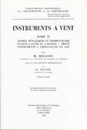 Instruments a vent t.2 - Intérieur - Format classique