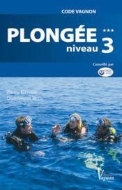 Plongee niveau 3 - Couverture - Format classique