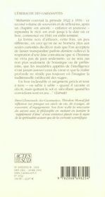 L'Emeraude Des Garamantes ; Souvenirs D'Un Saharien - 4ème de couverture - Format classique