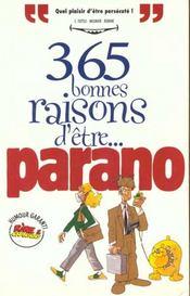 Rictus t.11; 365 bonnes raisons d'être paranoïaque - Intérieur - Format classique
