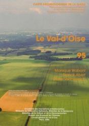 Carte Archeologique De La Gaule T.95 ; Le Val D'Oise - Couverture - Format classique