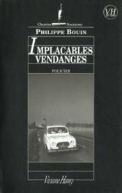 Implacables Vendanges - Couverture - Format classique