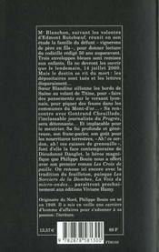 Implacables Vendanges - 4ème de couverture - Format classique