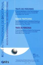 Vente livre :  Revue Internationale De Droit Penal ; 3/4e Trimestre 2010  - Collectif