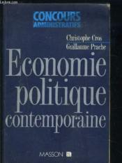 Economie Politique Contemporaine  - Cros