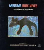 Anselme Boix-Vives - Couverture - Format classique