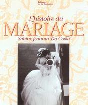 Ll'Histoire Du Mariage - Intérieur - Format classique