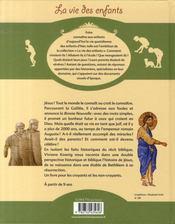 L'histoire de jésus - 4ème de couverture - Format classique