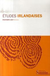 Revue Etudes Irlandaises N.32-1 - Intérieur - Format classique