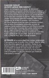 Un Petit Lapsus Tres Suspect - 4ème de couverture - Format classique