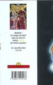 Shaman King T15 - 4ème de couverture - Format classique