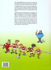 Les babyfoots t01 - 4ème de couverture - Format classique