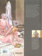 La dernière des salles obscures ; intégrale t.1 et t.2 - 4ème de couverture - Format classique
