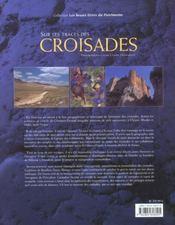 Sur Les Traces Des Croisades - 4ème de couverture - Format classique