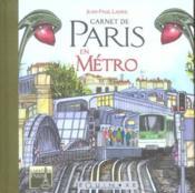 Carnet de paris en metro - Couverture - Format classique