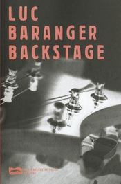 Backstage - Intérieur - Format classique