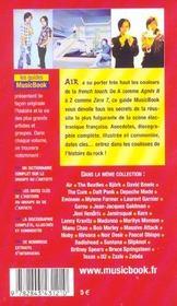 Air De A A Z - 4ème de couverture - Format classique