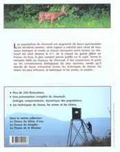 La Chasse Du Chevreuil. Le Guide Complet - 4ème de couverture - Format classique