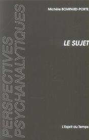 Le Sujet Instance Grammaticale Selon Freud - Intérieur - Format classique