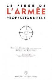 Piege De L'Armee Professionnelle (Le) - Couverture - Format classique