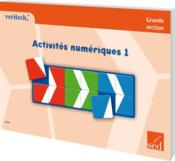 Activités numériques t.1 ; GS - Couverture - Format classique