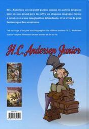 H.C. Andersen junior t.2 ; les frères grimm - 4ème de couverture - Format classique