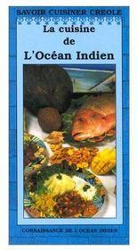 La cuisine de l'océan Indien - Couverture - Format classique
