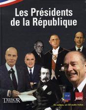 Les présidents de la république - Intérieur - Format classique